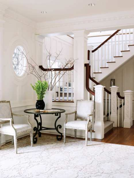 """Designer Maureen Griffin-Balsbaugh calls her style """"a softer side of modern,"""" with traditional elements given a modern feel."""