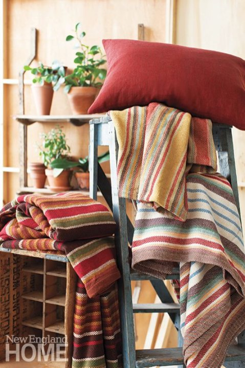 Annie Selke blankets and throw