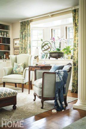 Historic Concord Home draperies