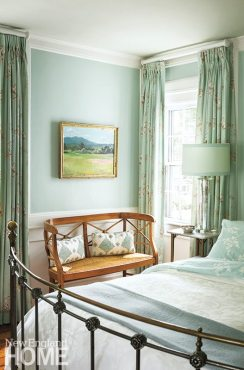 Historic Concord Home painting