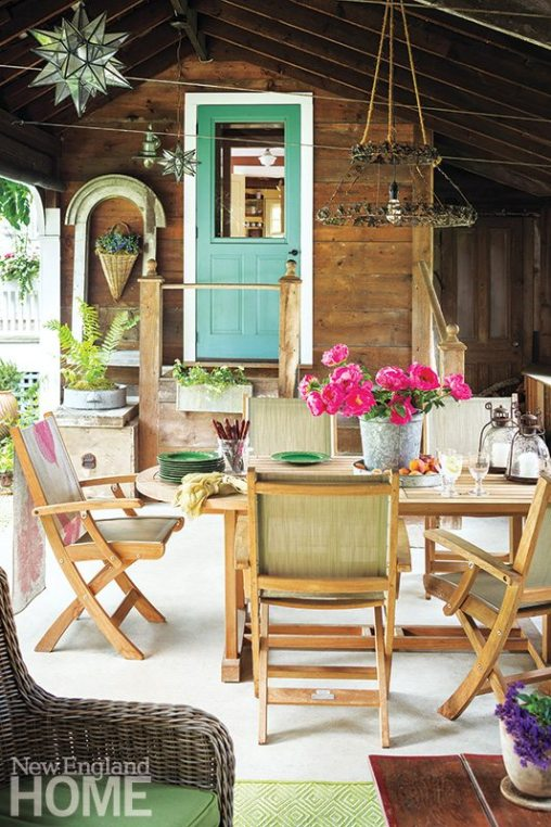 Historic Concord Home rustic room