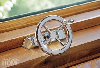 Newport boathouse nautical influences