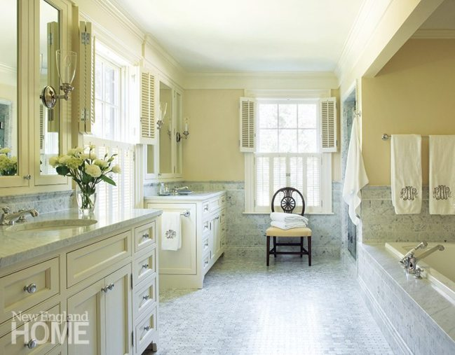Patrick Ahearn master bathroom