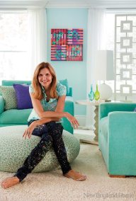 Homeowner/designer Margo Ouellette.