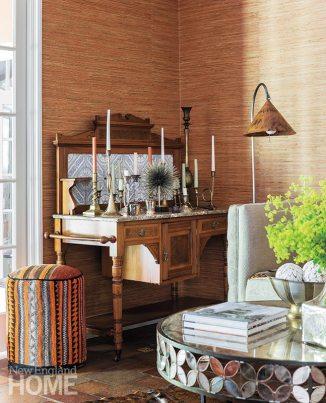 Andra Birkerts sitting room