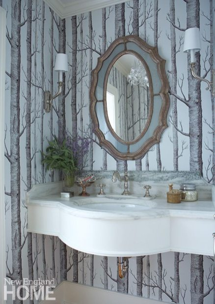 Tiffany Eastman powder room