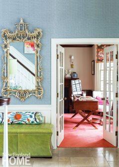 Jill Goldberg faux-painted wood