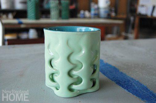 J.F. Brandon weave cup