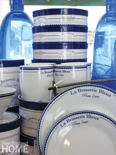Anthony Catalfano Home Blue and White China