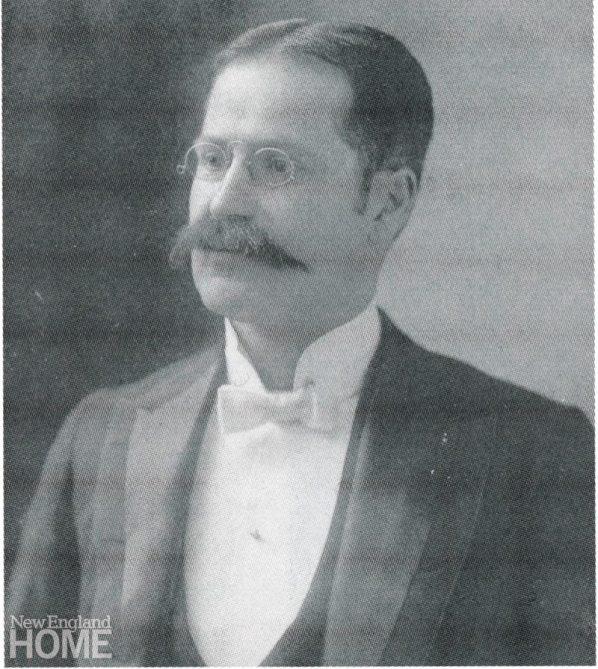 John Couzu Kebabian, the first owner of Kebabian's Oriental Rugs, circa 1898.