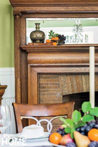 Mayer + Associates fireplace