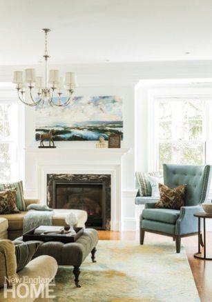 Mayer + Associates family room