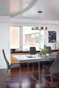 Hart Associates Architects dining room