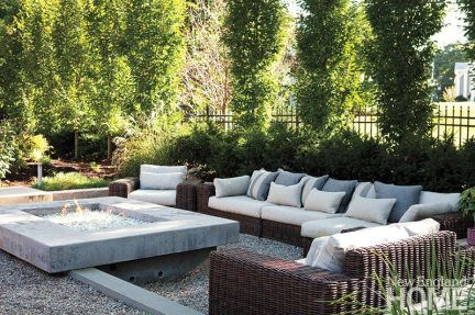 John Day and Jayme Kennerknecht outdoor oasis