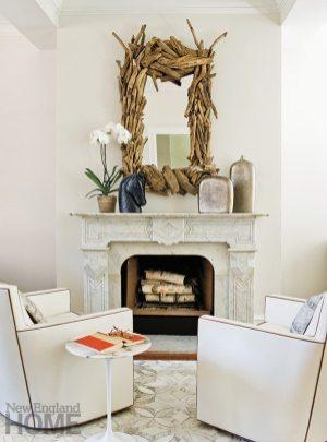 Karl Viksnins living room