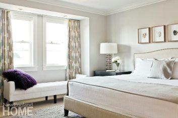 Karl Viksnins master bedroom