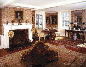 Adams National Historical Park long room