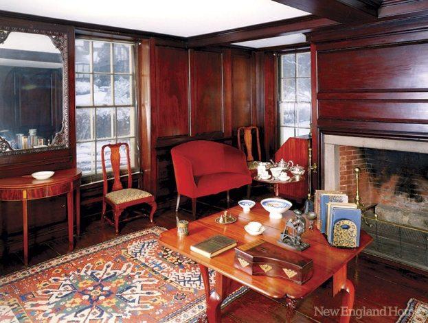 Adams National Historical Park Paneled Room
