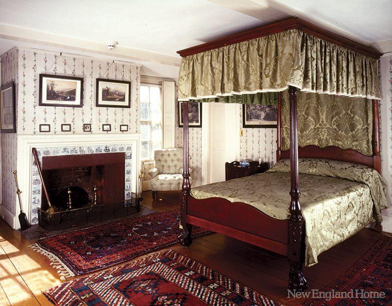 Adams National Historical Park Bedroom