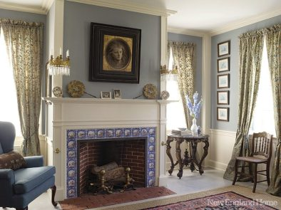Malcolm Rogers fireplace