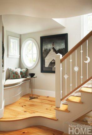 John DaSilva stairway
