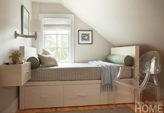 John DaSilva attic room