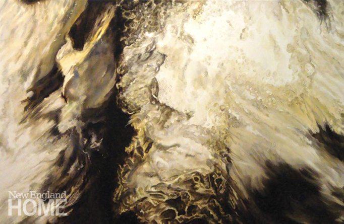 Fury (2012), oil on canvas, 48″H × 72″W