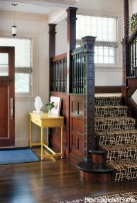 Kristen Rivoli Interior Design original woodwork