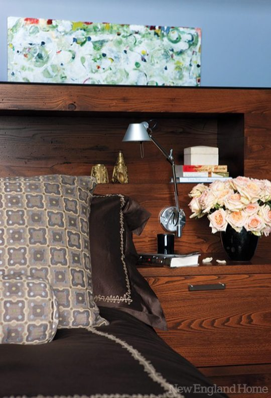 Kristen Rivoli Interior Design headboard