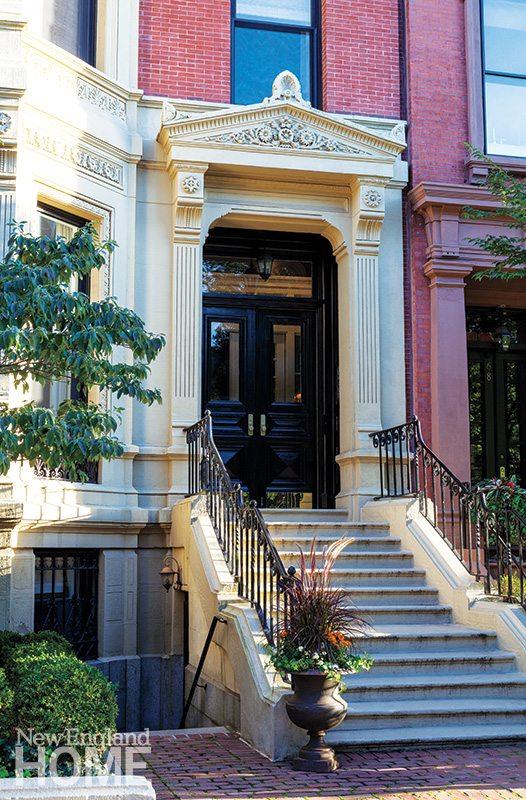 Traditional Boston Brownstone