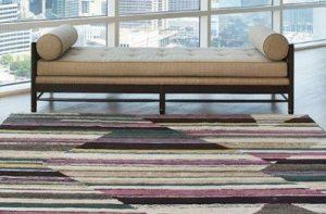 dover rug color blocking