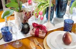 vani sayeed holiday table setting