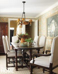Nancy Serafini dining room