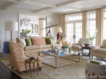 Charlotte Barnes living room