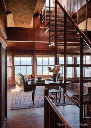 C & J Katz studio staircase