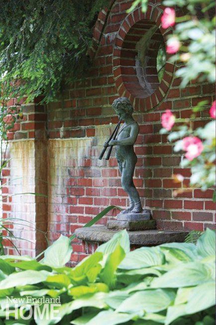 Nannette Lewis garden statue