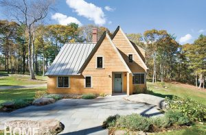Architect Sally A. DeGan fully endorses the trend toward smaller, but choicer, houses.