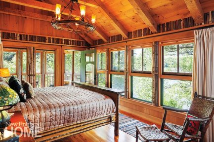 Christopher P. Williams Architects master bedroom