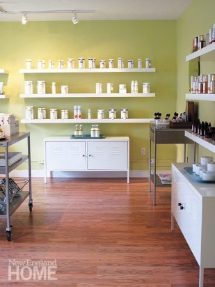Supple Apothecary purveys hard-to-find brands for the ultimate in skin and body care. Below: At Buddha & Beads, in Eastham, you'll delight in the treasure hunt.