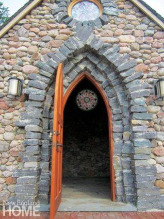 Thea Alvin stonemason Chapel and Walled Garden