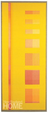 Yellow Goddess (2013), 20″W × 48″H
