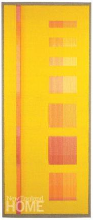 Yellow Goddess (2013), 20″W × 48″H
