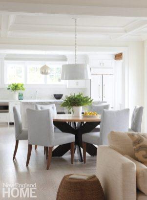 Nantucket Shingle Style Dining Area