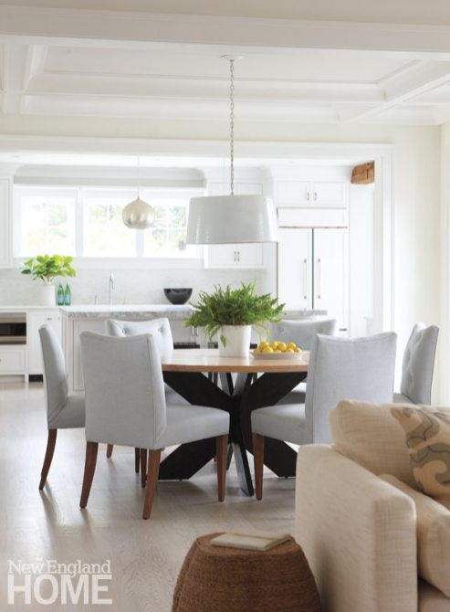 Nantucket Shingle Style Dining Area