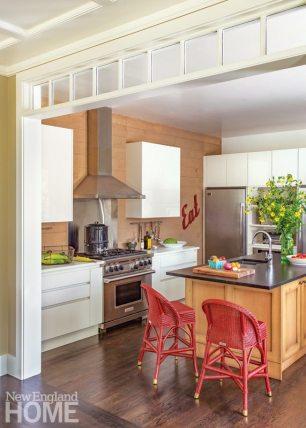 Cape Cod Family Compound Kitchen