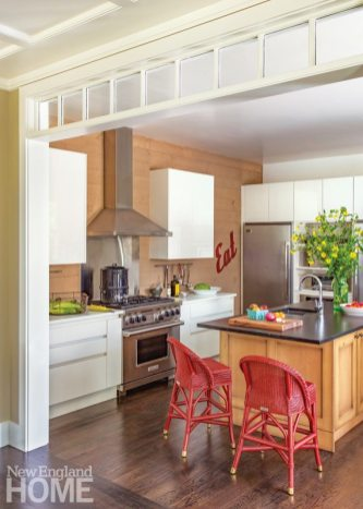 Cape Cod Family Compound Kitchen