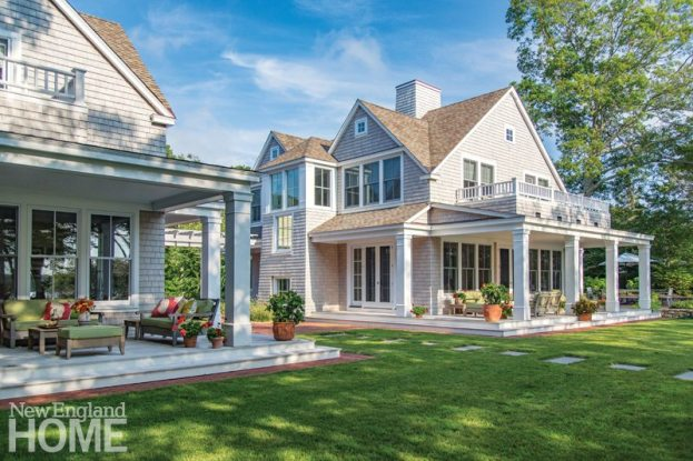 Cape Cod Family Compound Outdoor Spaces