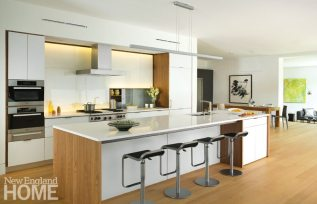 Lexington Contemporary Zero Energy Kitchen