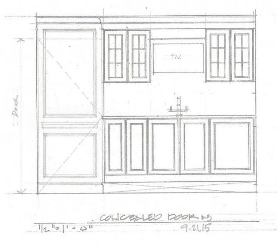 5 concealed door option 3_ Wilson Kelsey Design