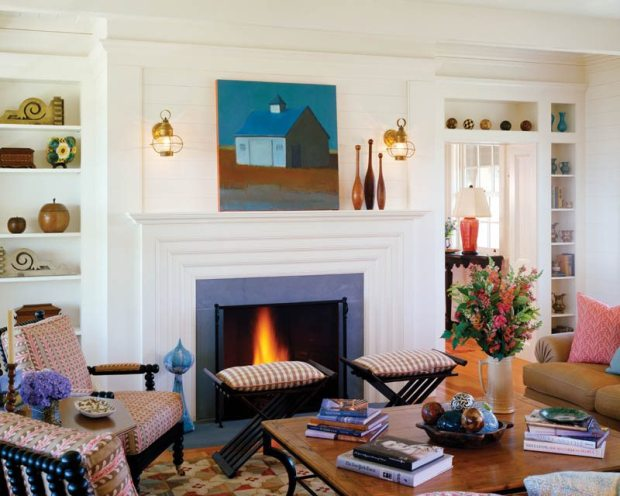 Albert Righter & Tittman Architects Living Room